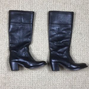 Women's Frye Jane 14L black boots size 7.5 B